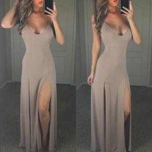 -Nude Love Me to the Maxi-